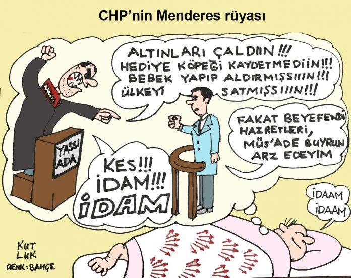 CHP Menderes rüyası